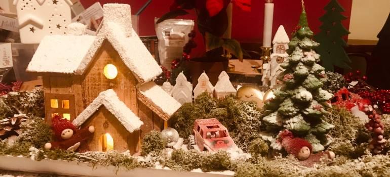 Netradičné machové vianočné dekoracie